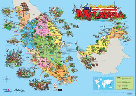マレーシア 地図