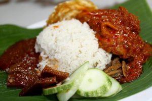 マレーシア料理 ナシレマ