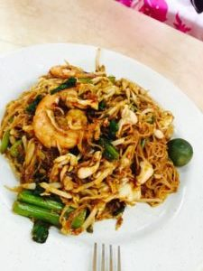 マレーシア料理 ミーゴレン