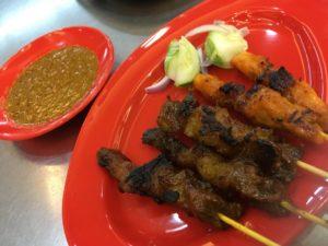 マレーシア料理 サテー